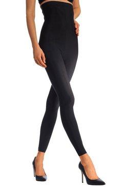 lascana highwaist legging met licht corrigerend effect zwart