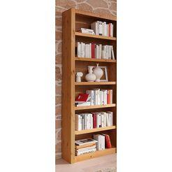 boekenkast, aanbouwelement, breedte 81 cm beige