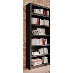 boekenkast, aanbouwelement, breedte 81 cm bruin
