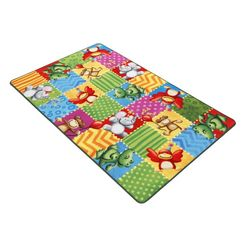 mat, »lovely kids lk-5«, boeing carpet, rechthoekig, hoogte 2 mm groen