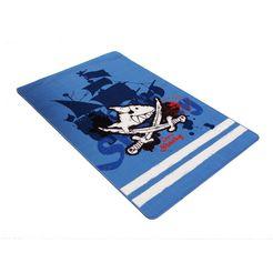 kindervloerkleed, capt'n sharky, »sh-305« blauw