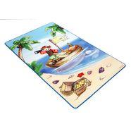 mat, »lovely kids lk-1«, boeing carpet, rechthoekig, hoogte 2 mm blauw