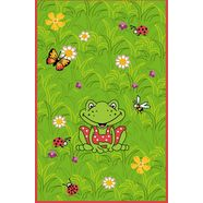 spiegelburg garden vloerkleed voor de kinderkamer ga-1373 rood