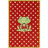 spiegelburg garden vloerkleed voor de kinderkamer ga-1372 rood