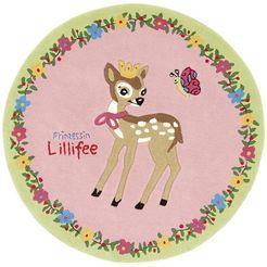 prinzessin lillifee vloerkleed voor de kinderkamer li-2935-01 roze
