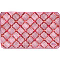prinzessin lillifee mat li-104 borstelmatten, voetmatten, inloopmatten, inloopmat, schoonloopmatten, inloopmat, deurmat, deurmat, gedessineerde platweefsel roze