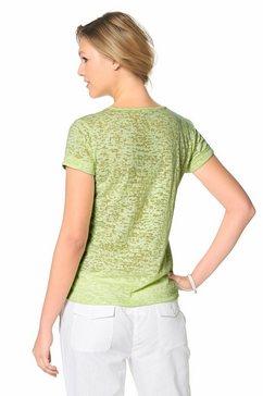 cheer t-shirt met studs groen