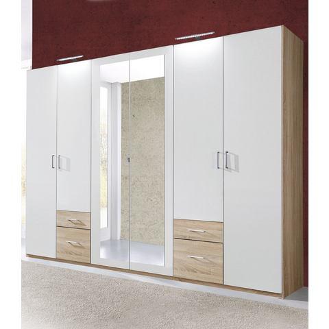 Kledingkasten Garderobekast met kunststof oppervlak 868296