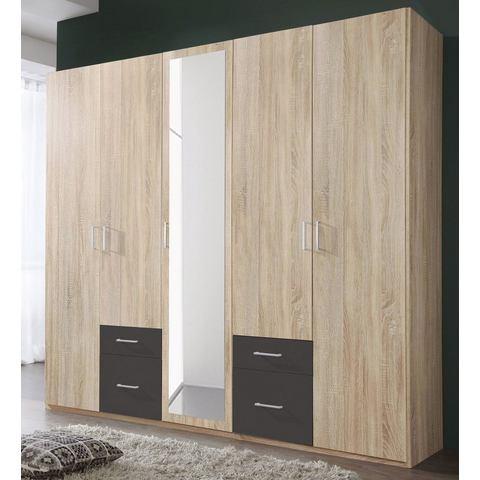 Kledingkasten Garderobekast met kunststof oppervlak 879120