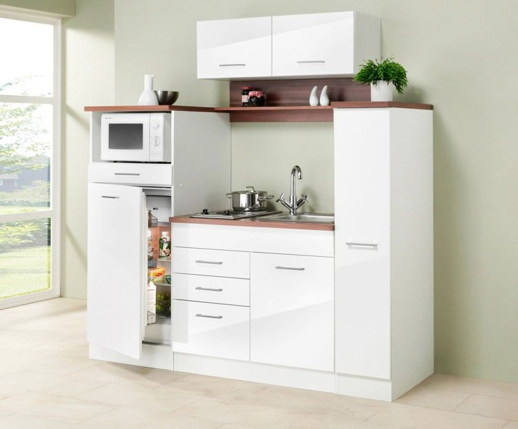 Small Apothekerskast Keuken : Held mÖbel mini keuken »breedte 190 cm« in de online shop otto
