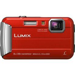 panasonic lumix dmc-ft30 outdoor camera, 16,1 megapixel, 4x opt. zoom, 6,7 cm display rood