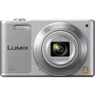 panasonic dmc-sz10eg superzoom camera, 16 megapixel, 12x opt. zoom, 6,9 cm (2,7 inch) display zilver