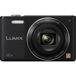panasonic dmc-sz10eg superzoom camera, 16 megapixel, 12x opt. zoom, 6,9 cm (2,7 inch) display zwart