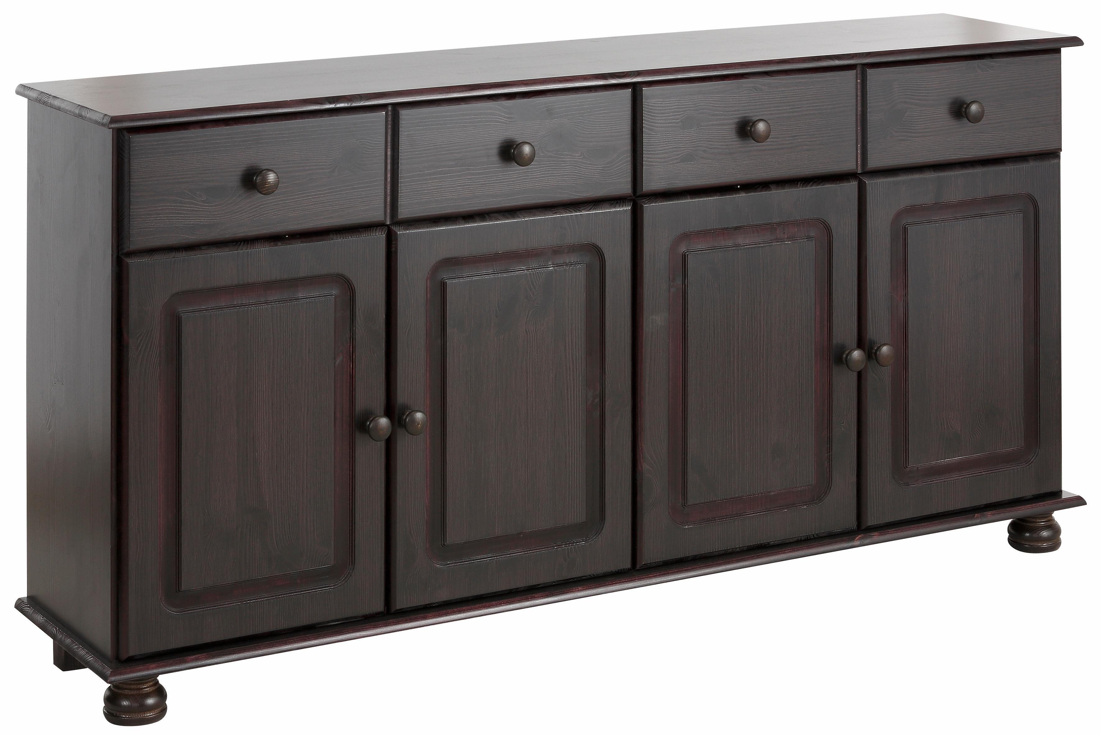 Home affaire dressoir Mette van mooi massief grenenhout, in meer kleurvarianten, breedte 156 cm veilig op otto.nl kopen