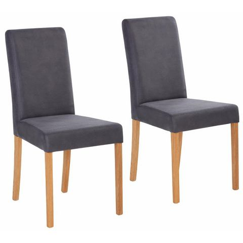 Eetkamerstoelen HOME AFFAIRE Stoel Bologna in set van 2 833102