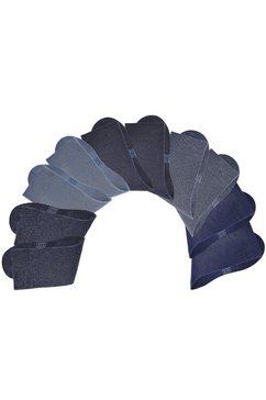 Uniseks-sokken, set van 10 paar