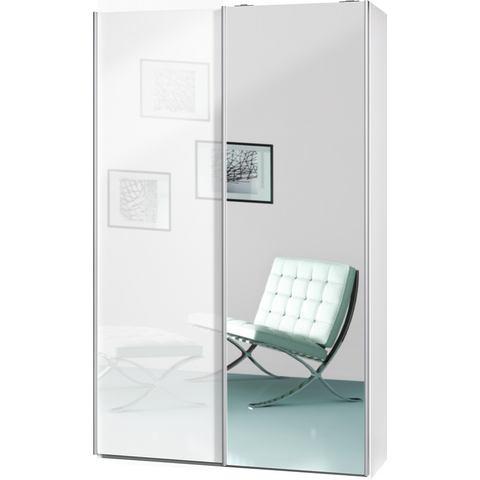 CS SCHMAL kast Smart 120 cm breed witte slaapkamer garderobekast 141