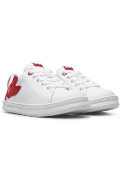 camper sneakers met logo-opschrift op de tong wit