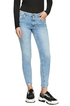 q-s designed by skinny fit jeans blauw