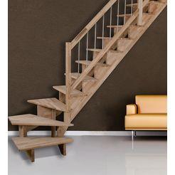 starwood massief houten trap »lindos«, b: 100 cm, in 2 varianten 2014