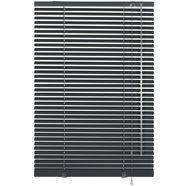gardinia aluminium-jaloezie in standaardmaat 25 mm zwart