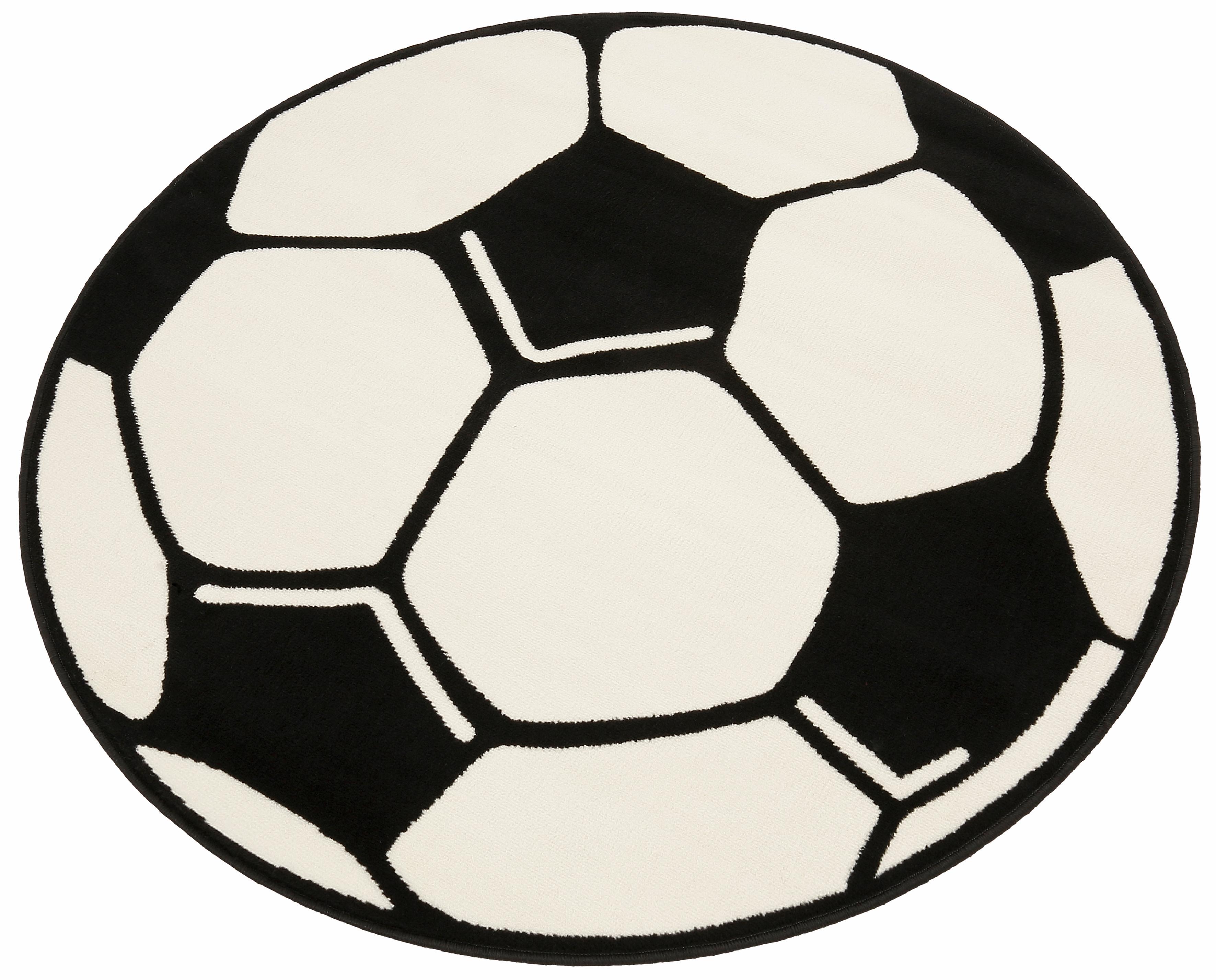 Ongebruikt ECOREPUBLIC HOME Geweven kinder-vloerkleed Voetbal snel gevonden LV-76