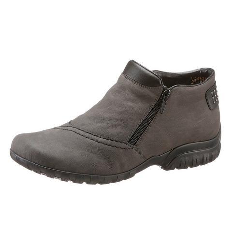 RIEKER Boots van imitatie-nubuckleer