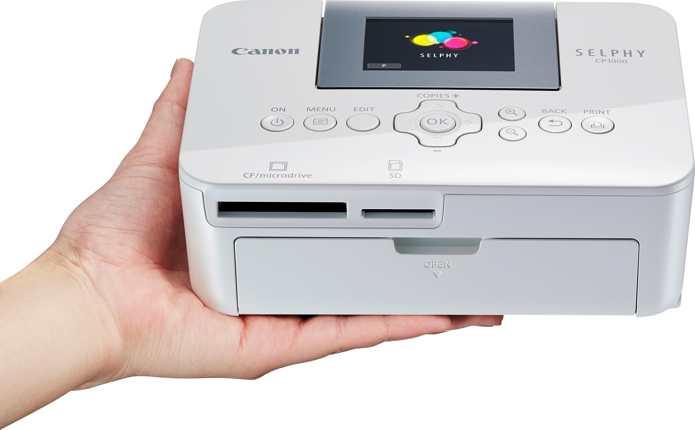 Canon SELPHY CP1000 inkjet-fotoprinter bij OTTO online kopen