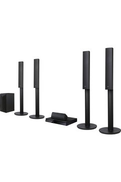 LHA755 thuisbioscoop, 3D Blu-ray speler, 1.000 W, 3D, Bluetooth, Spotify