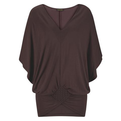 LASCANA Shirt met diepe V-hals