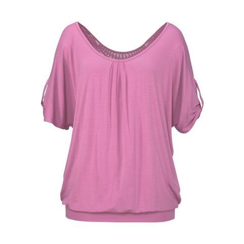 LASCANA Shirt met haakdetail achter