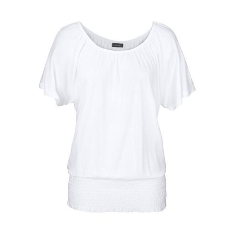 LASCANA Shirt met smokrand