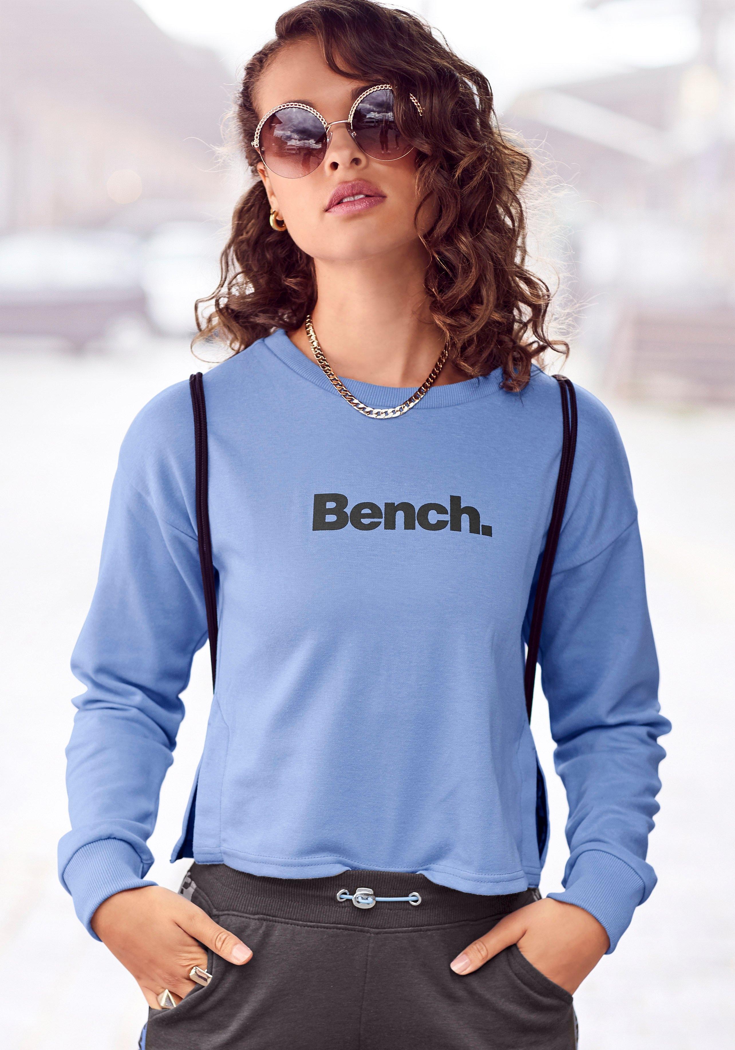 Bench. sweater kort model met splitjes opzij voordelig en veilig online kopen