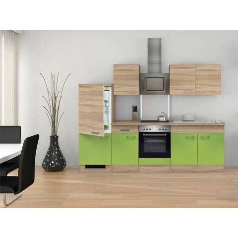 Keukenblok met elektrische apparaten »Rio, breedte 270 cm,incl. gratis 2e frontenset«