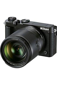 N1 J5 Kit Systeemcamera, 1 NIKKOR VR 10–100 mm 1:4,0–5,6 Zoom, 20,8 Megapixel
