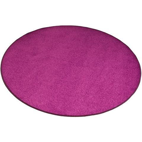 LIVING LINE Rond karpet Trend van velours