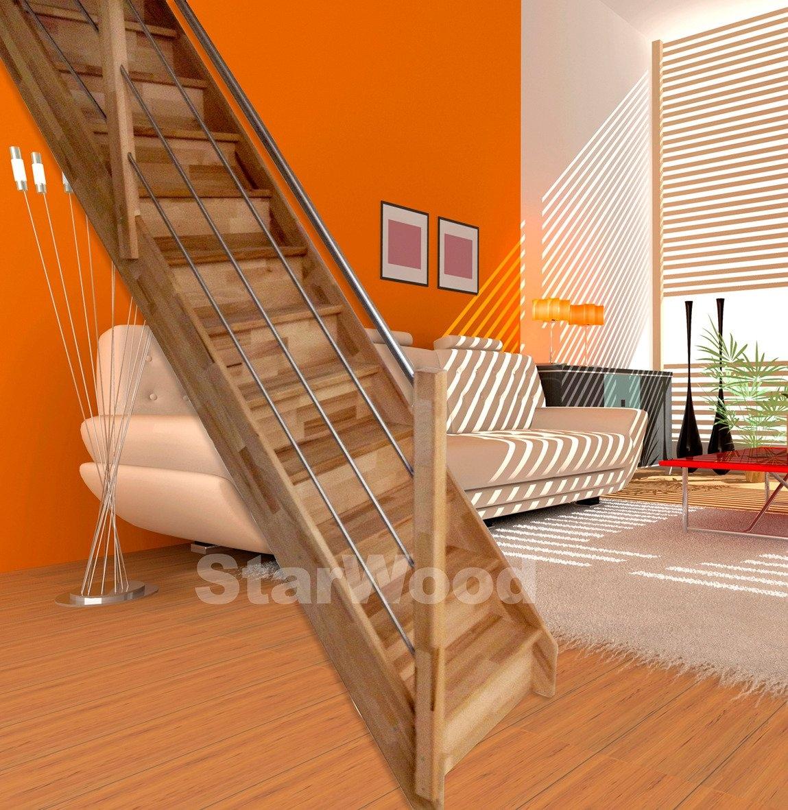 starwood ruimtebesparende trap rhodos gesloten treden