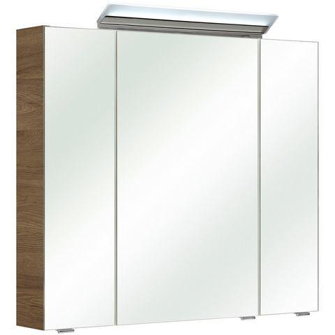kast FILO goudkleurige badkamer spiegelkast 65