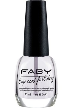 faby top coat-nagellak wit