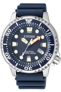 citizen polshorloge bn0151-17l met eco-drive blauw