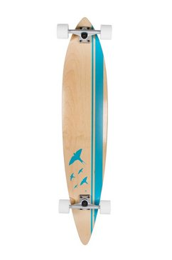 sportplus longboard concave round pintail, »flyblue sp-sb-106« multicolor
