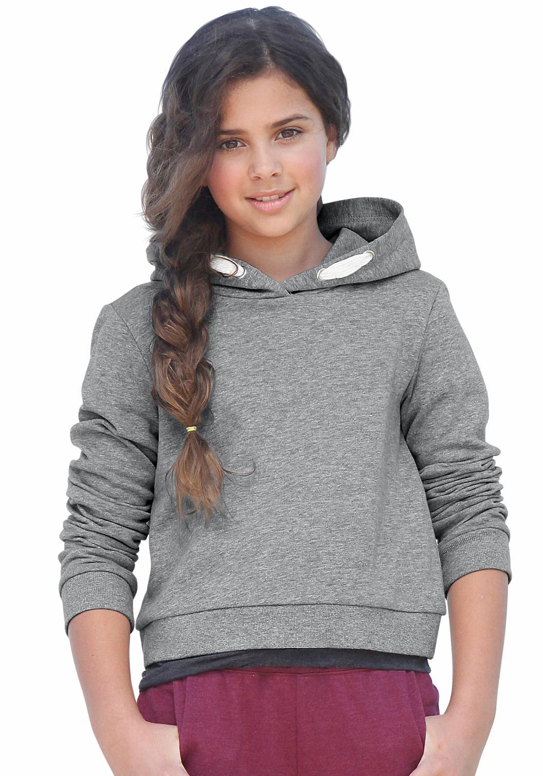 Op zoek naar een Kidsworld Capuchonsweatshirt in kort model? Koop online bij OTTO