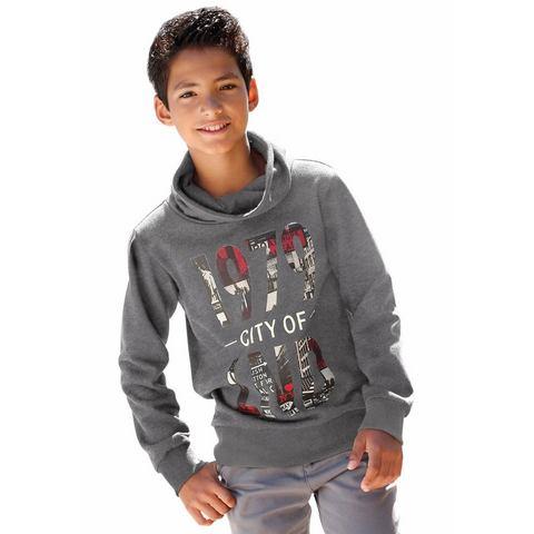 BUFFALO Sweatshirt met staande kraag