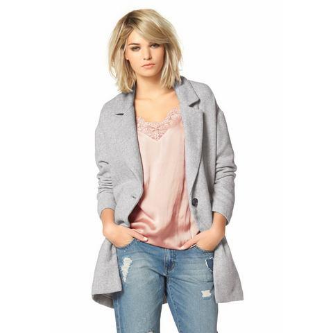 LAURA SCOTT Lang jasje in egg-shape-stijl