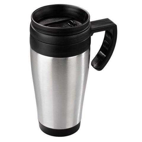 Xavax Thermo mug zilver voor in de auto