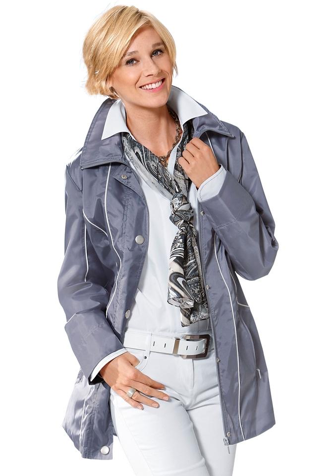 Classic Basics jas in zachtglanzende look nu online kopen bij OTTO