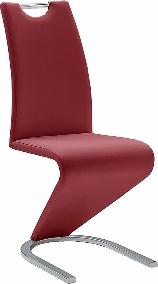 MCA furniture Vrijdragende stoel in leer-look in de webshop van OTTO kopen