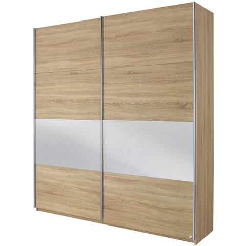 Kledingkasten RAUCH Zweefdeurkast met glas of spiegels 512968