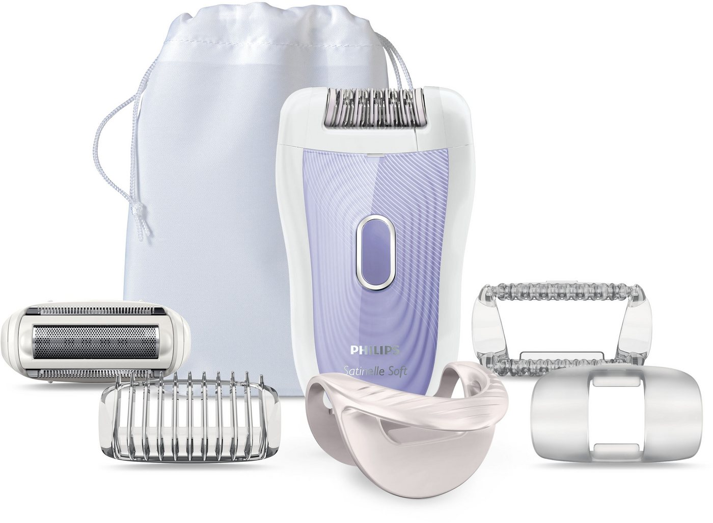 Philips Epilator Satin Soft Wet&Dry HP6523/02