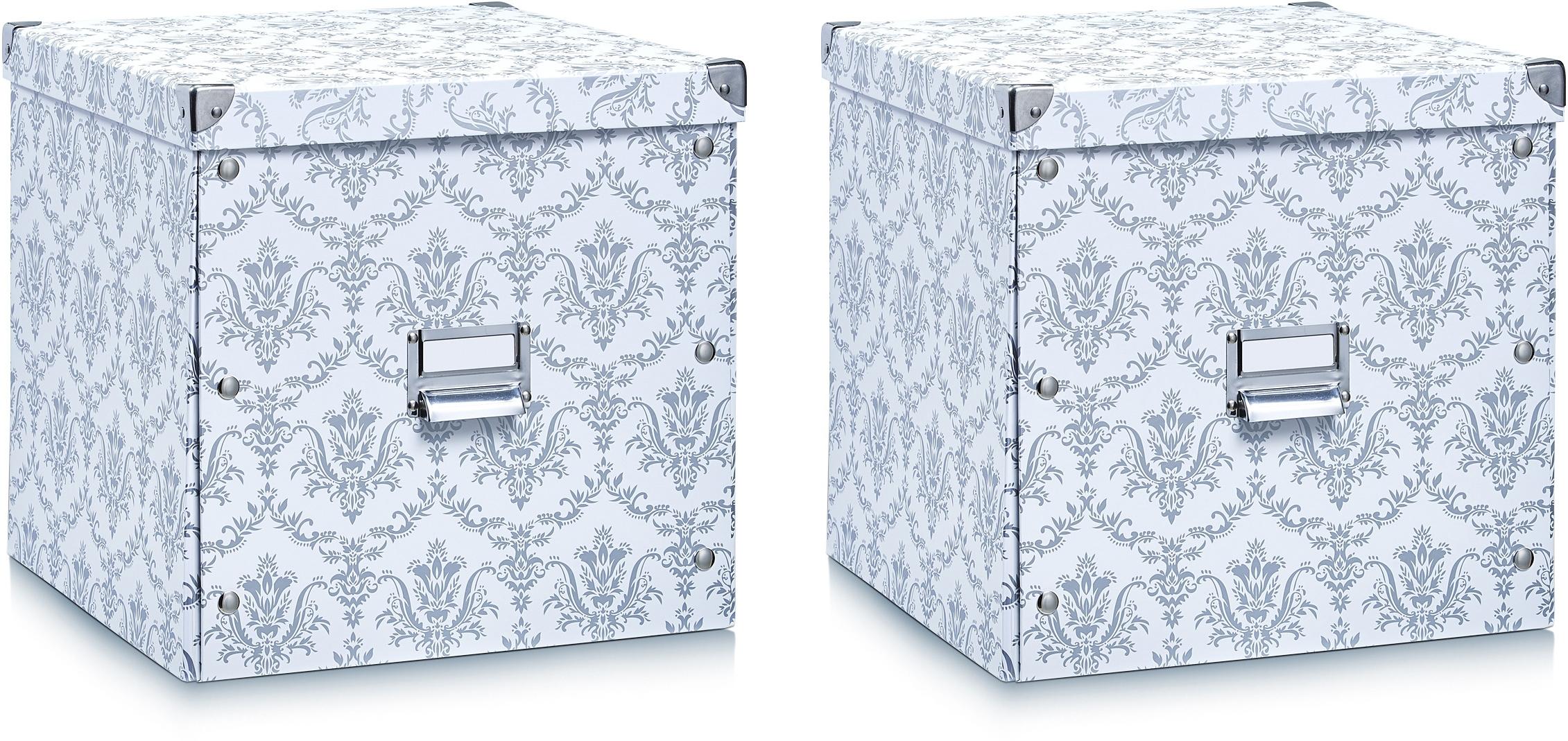Zeller Present opbergbox (set van 2) - verschillende betaalmethodes